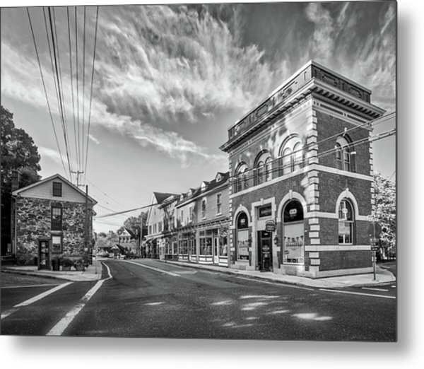 Metal Print featuring the photograph Main St Sykesville by Mark Dodd