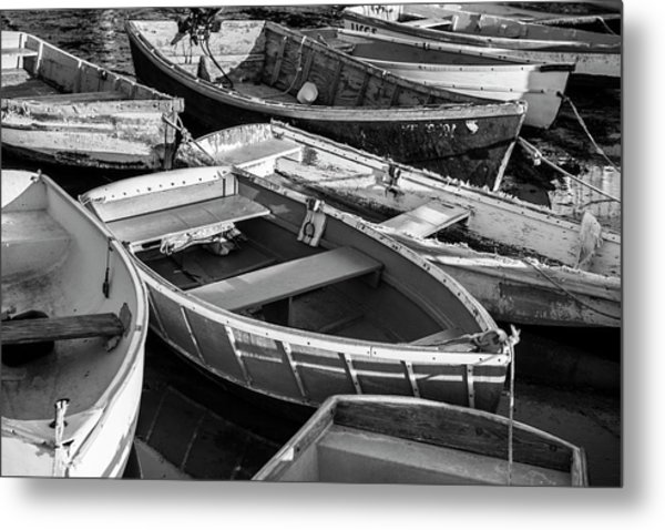 Maine Boats Metal Print