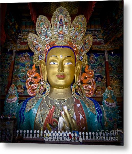 Maitreya Buddha Metal Print