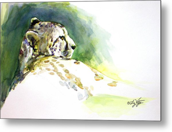 Majestic Cheetah Metal Print