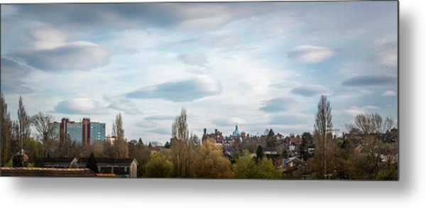 Majestic Cloud 1 Metal Print