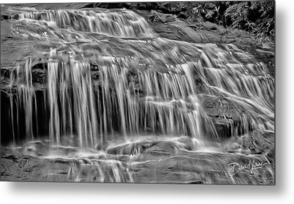 Metal Print featuring the photograph Majestic Falls In Motion by David A Lane
