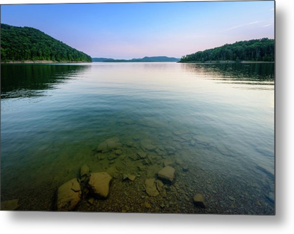 Majestic Lake Metal Print
