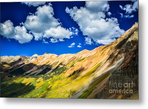 Majestic San Juan Mountains  Metal Print by Scott and Amanda Anderson
