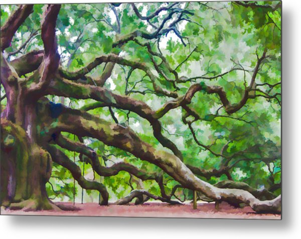 Majesty - The Angel Oak Metal Print