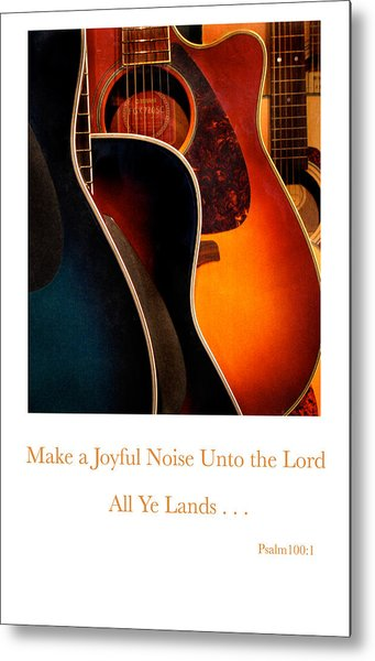 Make A Joyful Noise Metal Print by Linda Merkel