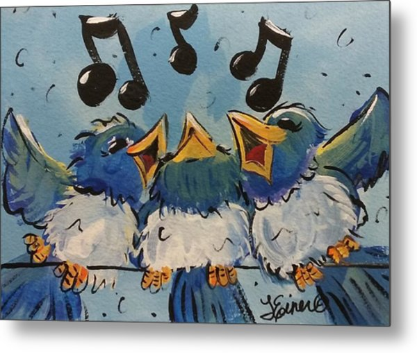Make A Joyful Noise Metal Print
