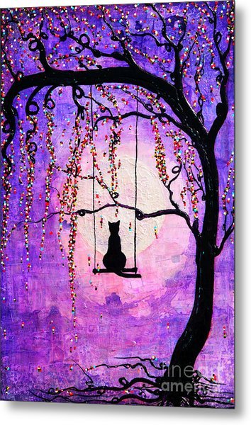 Metal Print featuring the mixed media Make A Wish by Natalie Briney