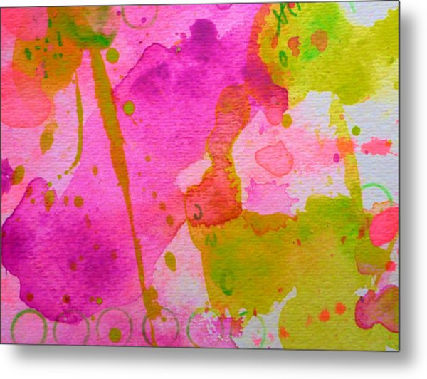 Metal Print featuring the painting Make Your Own Ending by Tracy Bonin