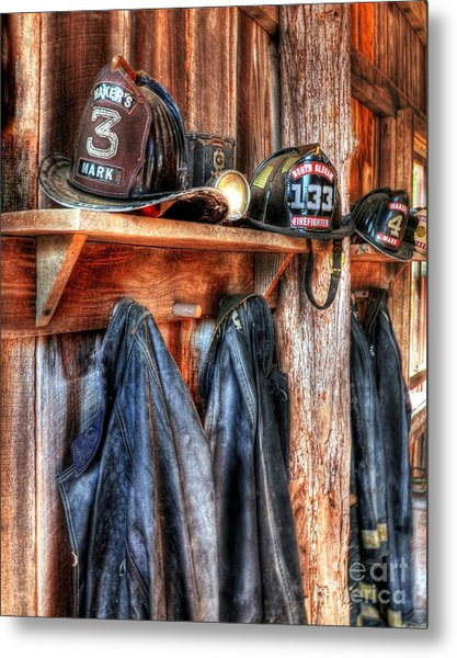 Maker's Mark Firehouse Metal Print