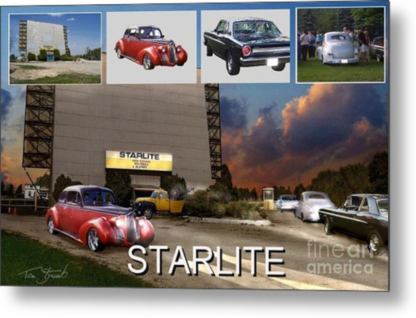 Making The Starlite Metal Print by Tom Straub