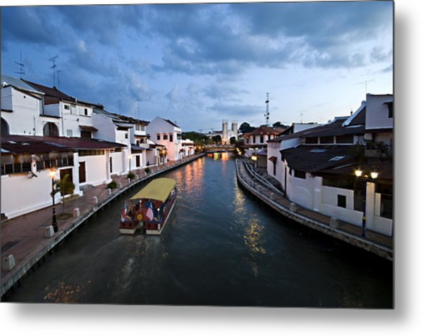 Malacca River Metal Print