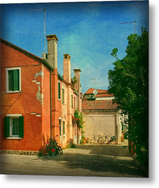Malamocco Corner No1 Metal Print