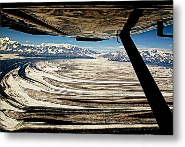Malaspina Glacier Alaska Metal Print