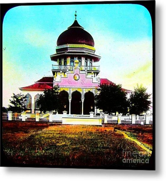 Malay Mosque Singapore Circa 1910 Metal Print