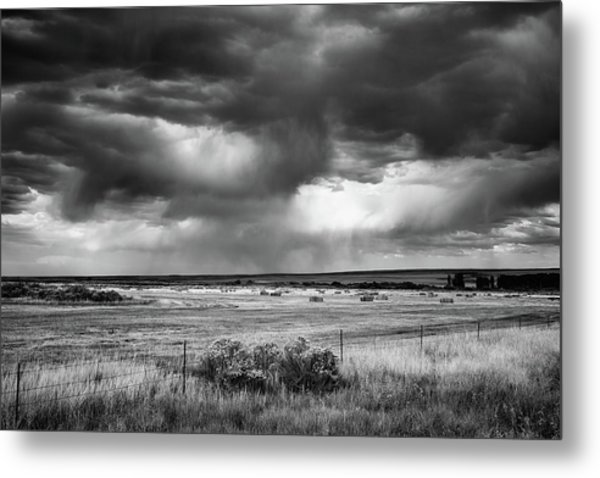 Malheur Storms Clouds Metal Print