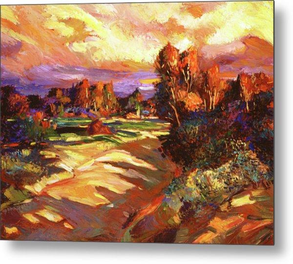 Malibu Canyon Creek Metal Print