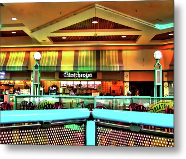 Mall Scape Metal Print by Francesco Roncone