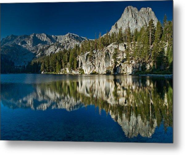 Mammoth Lakes Reflections Metal Print