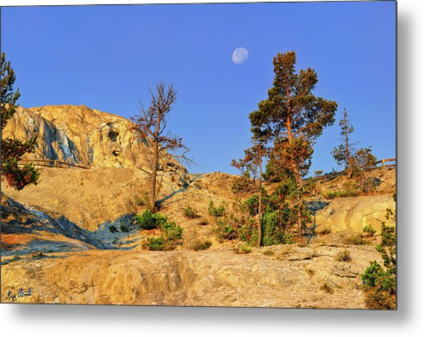 Mammoth Morning Le Metal Print