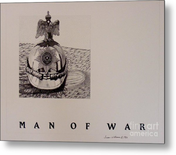 Man Of War Metal Print