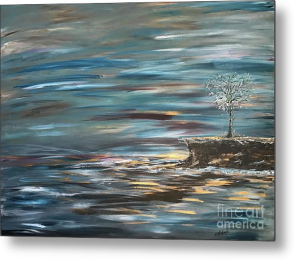 Man Overboard Part Two Metal Print by Heather McKenzie