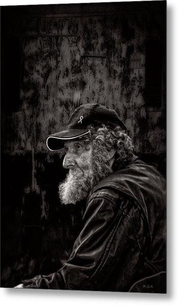 Man With A Beard Metal Print
