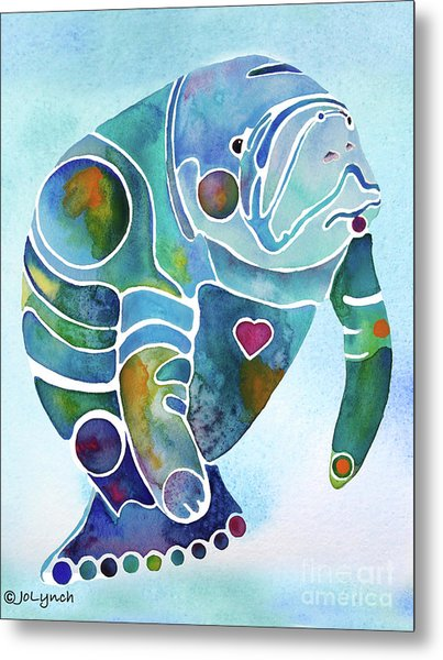 Manatee Blues Metal Print