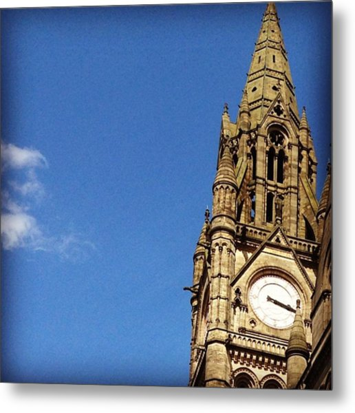 Manchester Town Hall - Manchester Metal Print