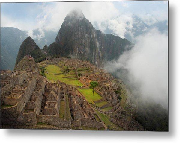 Manchu Picchu Metal Print