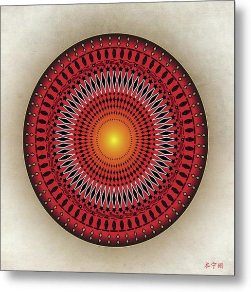 Mandala No. 32 Metal Print