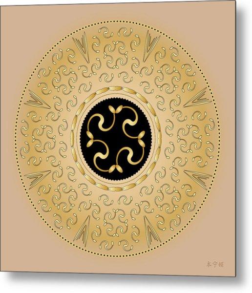 Mandala No. 57 Metal Print