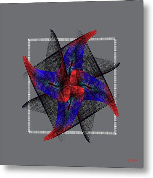Mandala No. 81 Metal Print