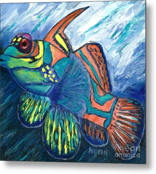 Mandarinfish Metal Print