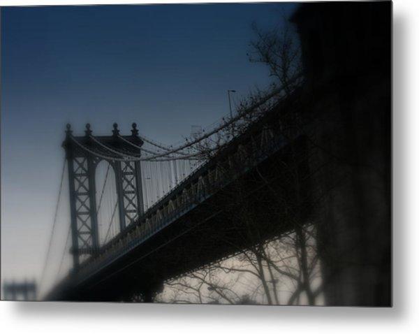 Manhattan Dreamin' Metal Print by Susan Crittenden
