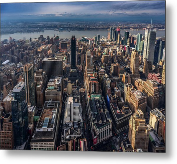 Manhattan, Ny Metal Print