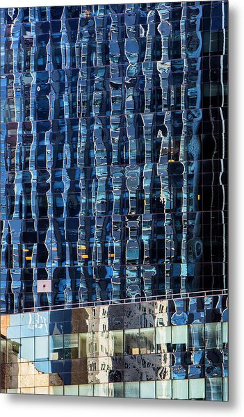 Manhattan Windows Metal Print