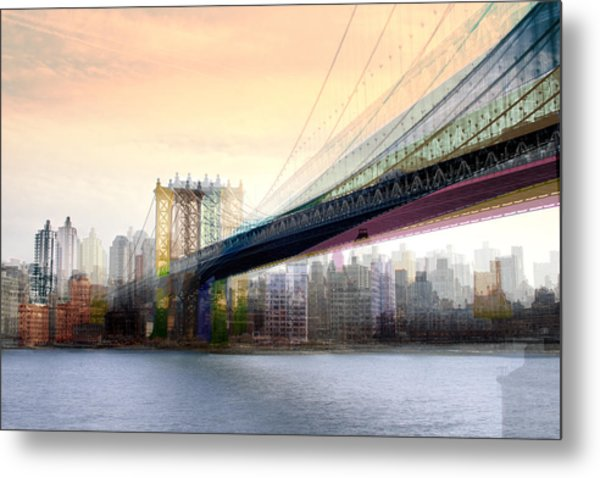 Manhattan X3 Metal Print