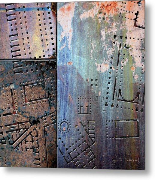Maps #9 Metal Print
