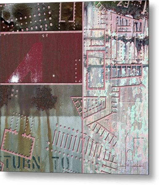 Maps #17 Metal Print