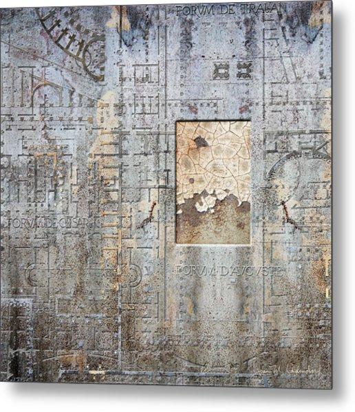 Maps #18 Metal Print