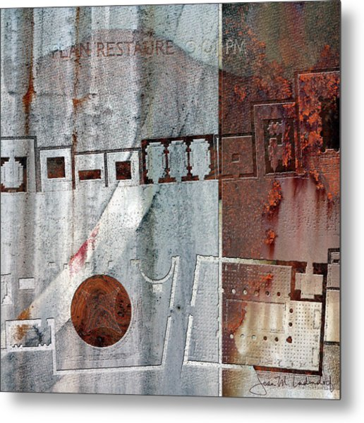 Maps #20 Metal Print