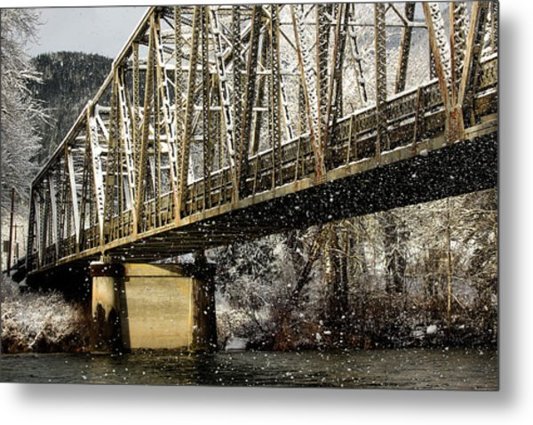 Marblemount Wa Bridge Metal Print