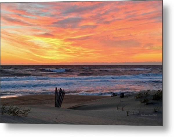 March 23 Sunrise  Metal Print