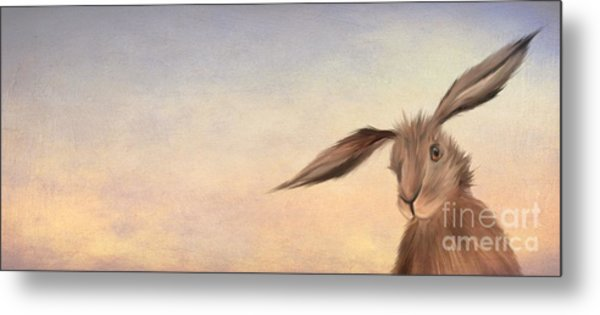 March Hare Metal Print