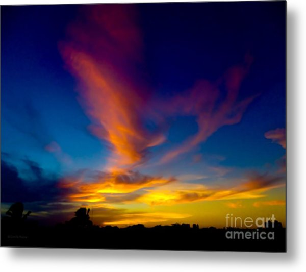Sunset March 31, 2018 Metal Print