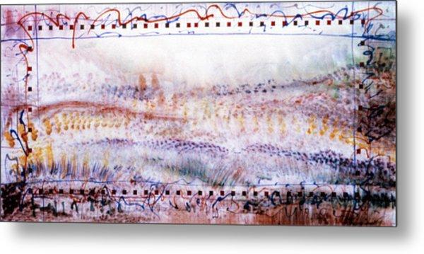 Marching In The Meadow Metal Print by Tom Hefko