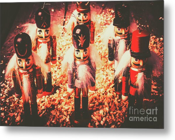 Marching In Tradition Metal Print