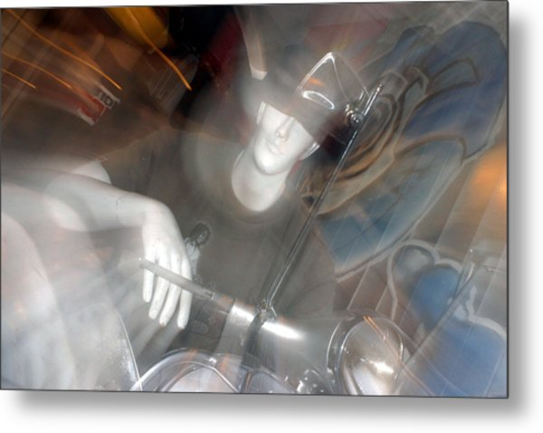 Marcus 1 Metal Print by Jez C Self