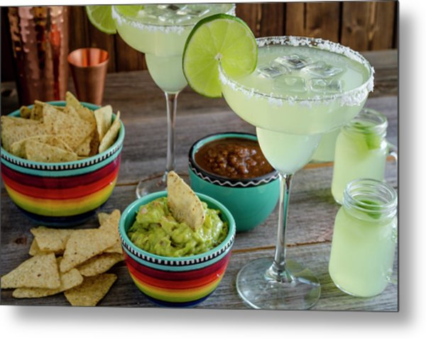 Margarita Party Metal Print